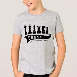 Sport Chess, Kid's t-shirt, wit-t-shirt T-Shirt