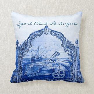 Sport Club Portuguese Tile Pillow