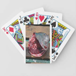 sport fishing bicycle playing cards