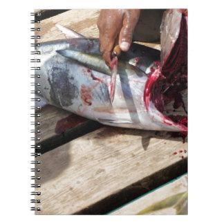 sport fishing notebook