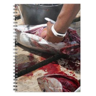 sport fishing notebooks