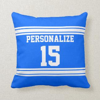 Sport Jersey Design | DIY Color, Name and Number Throw Pillow