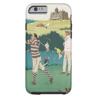 Sport jouant au golf de golfeurs de voyage de golf coque tough iPhone 6