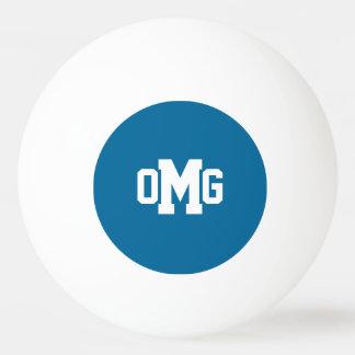 Sport Monogram Ping Pong Ball