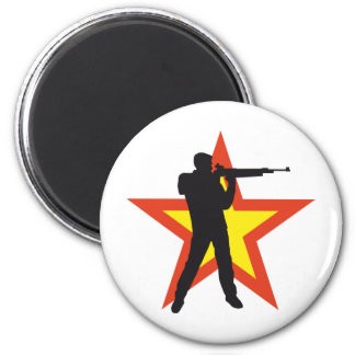 sport more shooter 2 inch round magnet