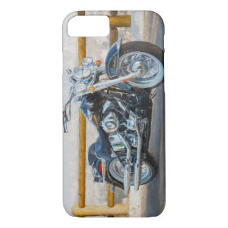 Sport Motorcycle overlooking Los Angles iPhone 8/7 Case
