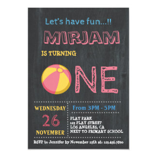 Sport PARTY INVITATION FOR Girls| COLORFUL Sport