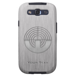 Sport Shooting; Metal-look Galaxy S3 Cases