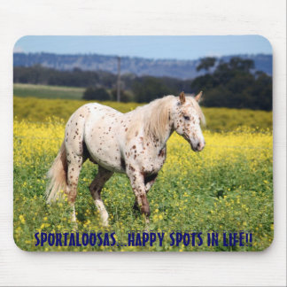 Sportaloosas happy spots in life.. mouse pad