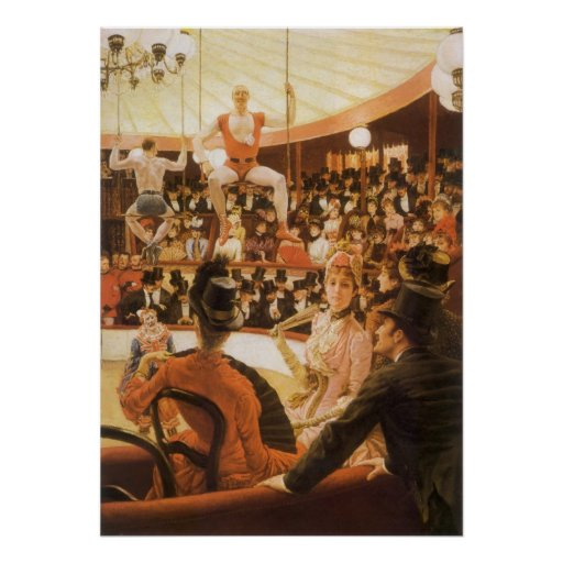 Sporting Ladies (or Circus Lover) by James Tissot Posters