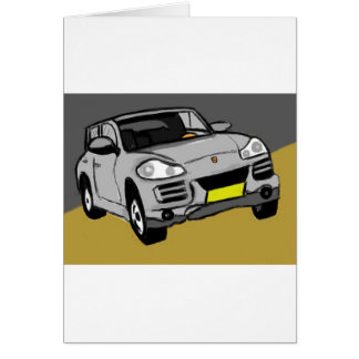 sportive SUV Card