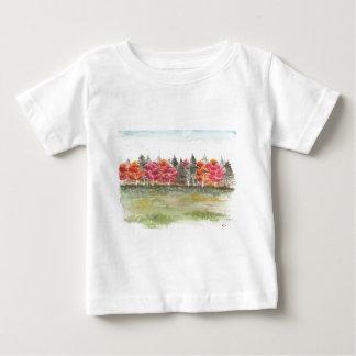 Sportplatz Birkenwäldchen Baby T-Shirt