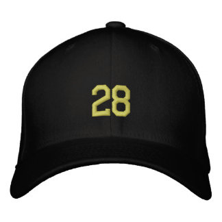 sports 28 embroidered hat