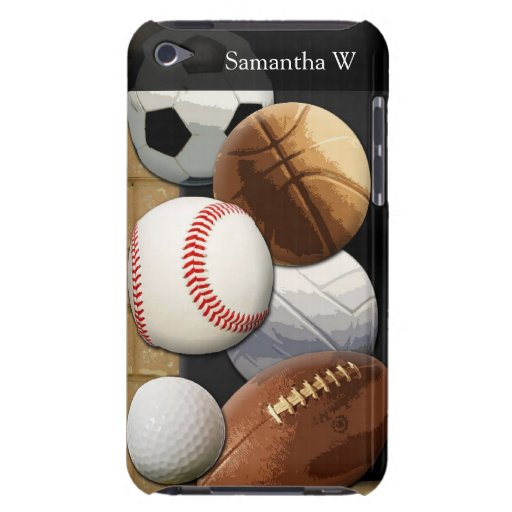 Sports Al-Star, Basketball/Soccer/Football Barely There iPod Cases