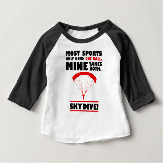 sports and skydive, Mine takes both Baby T-Shirt