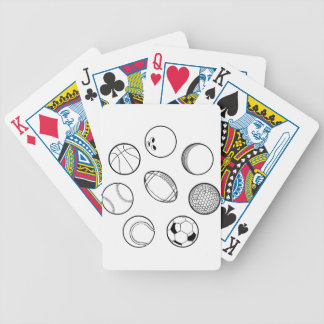 Sports Balls Set Bicycle Playing Cards