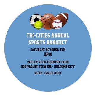 Sports Banquet Invitation