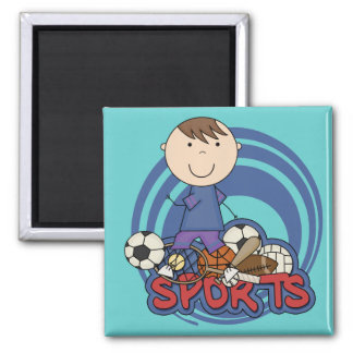 Sports Boy Soccer T-shirts and Gifts Magnet