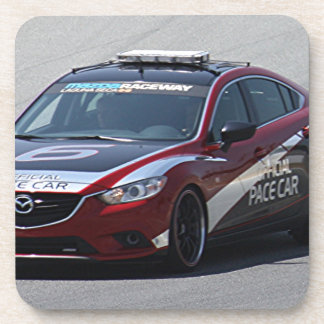 Sports Car Auto Racing Drink Coasters