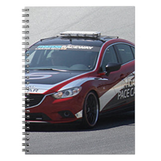 Sports Car Auto Racing Spiral Notebook