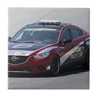 Sports Car Auto Racing Tile