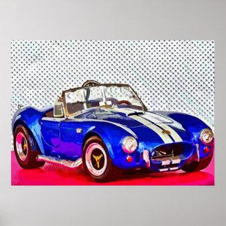 Sports car - Photoworks Jean Louis Glineur Poster