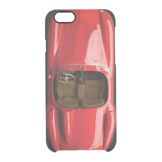 Sports Car Red iPhone 6/6S Clear Case