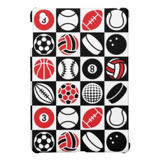 Sports Checkerboard iPad Mini Cover