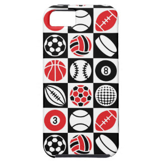 Sports Checkerboard iPhone 5 Cases