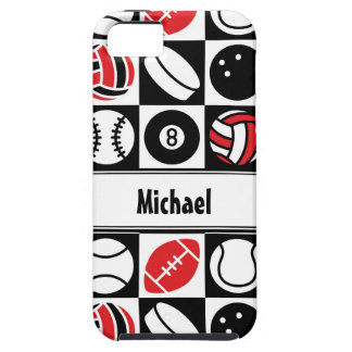 Sports Checkerboard iPhone 5 Covers