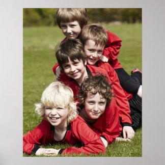 Sports, Children, Football Poster