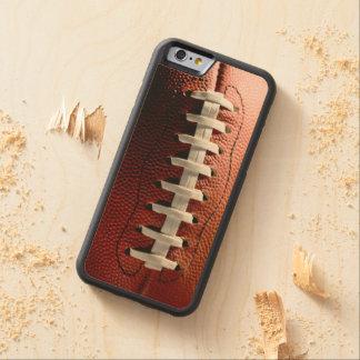 Sports d'amusement de passioné du football coque iPhone 6 bumper en érable