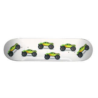 sports de destin d'amusement de garçons de monstre skateboards