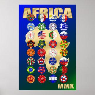 Sports du football du football de l'Afrique du