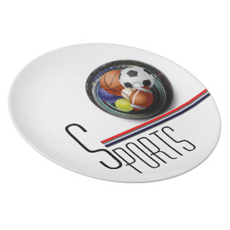 Sports Fan Party Plates