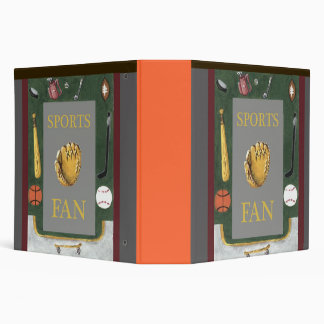 Sports Fan with equipment Binder
