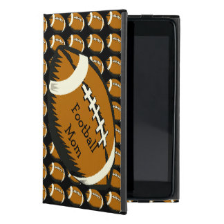 Sports Football Mom Black and Brown iPad Mini Case