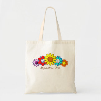 Sports Girl Tote Bag