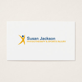 Sports Injury Business Card
