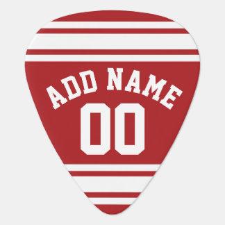 Sports Jersey avec votre nom et nombre Onglet De Guitare