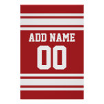 Sports Jersey with Your Name and Number