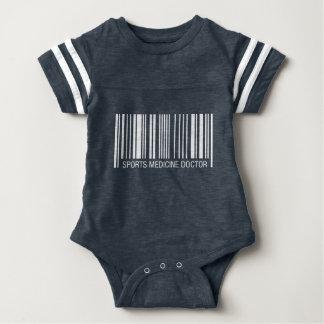 Sports Medicine Doctor Barcode Baby Bodysuit