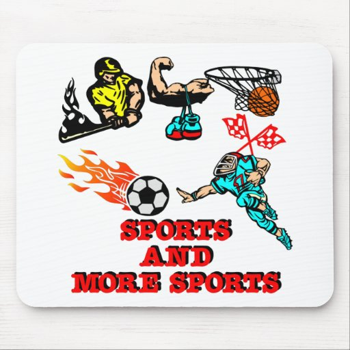 Sports More Sports Mouse Pad