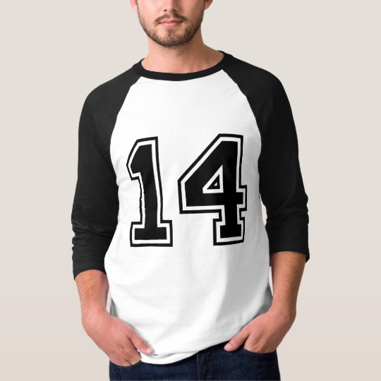 sports number 14 T-Shirt