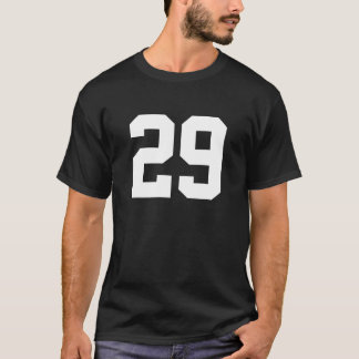 Sports number 29 T-Shirt