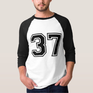 Sports number 37 t shirts