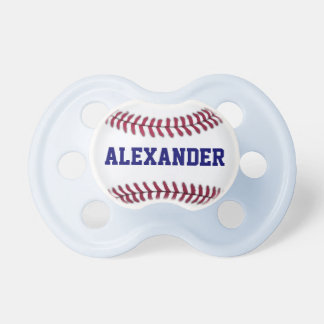 Sports Personalized Baseball Pacifier