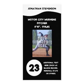 Sports Photo Trading Card, Custom Team Photo Greeting Card