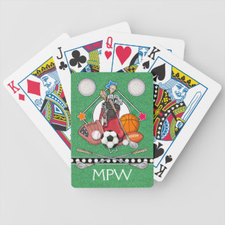 SPORTS - Playing Cards - SRF