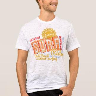 sports print Men's Canvas Fitted Burnout T-Shirt